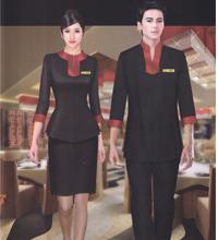 西餐厅服务员工作服
