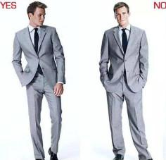 不同体型的男士如何穿定制西装