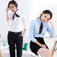 夏季工作服职业女装套装