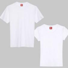 企业团建白色短袖T恤定制