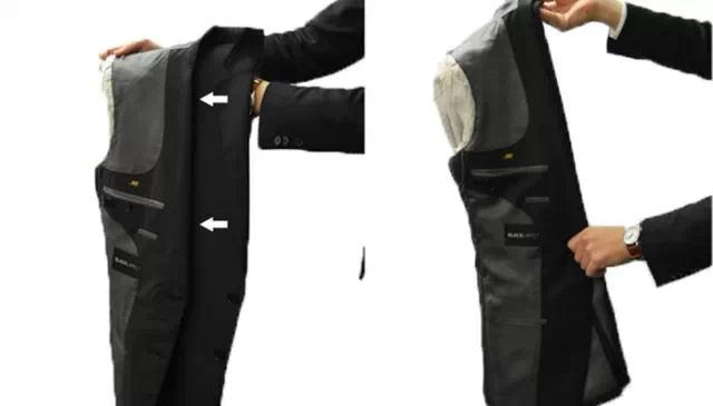 正装领带打法图解