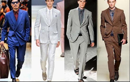 男性直销人员可以根据自己的爱好,身材,具体场合来选择合适的西装.