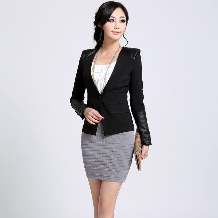 职业装-都市女白领着装必备搭配常识